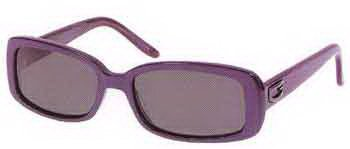 GUESS Red Frame Gray Lens Sunglasses GU6211 BU-3 New w/ Case
