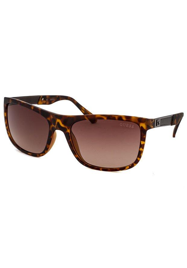 GUESS Men Brown Sunglasses GU6843 56F New w/ Case