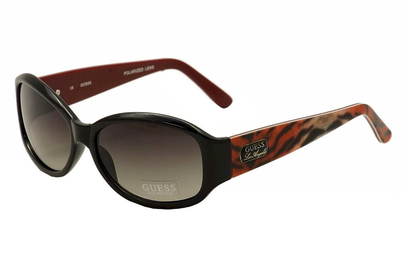 GUESS Men Black Frame Gray Lens Sunglasses GUP2016 BLK-35 New w/ Case