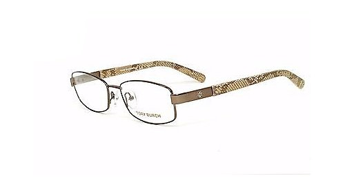 Tory Burch Silver Optical Eyeglasses Frame TY1018 117 53mm New w/ Case