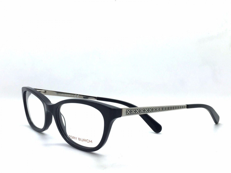 Tory Burch Black Optical Eyeglasses Frame TY2030 501 52mm New w/ Case