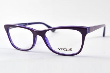 Vogue Purple Optical Eyeglasses Frame VO2763 2277 51mm New w/ Case