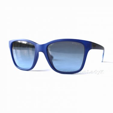 VOGUE Women Blue Sunglasses VO2896-S 2225-8F New w/ Case