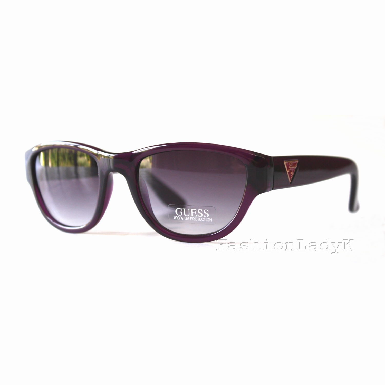 GUESS Women Raspberry Sunglasses GU7223 RSP-35 New w/ Case