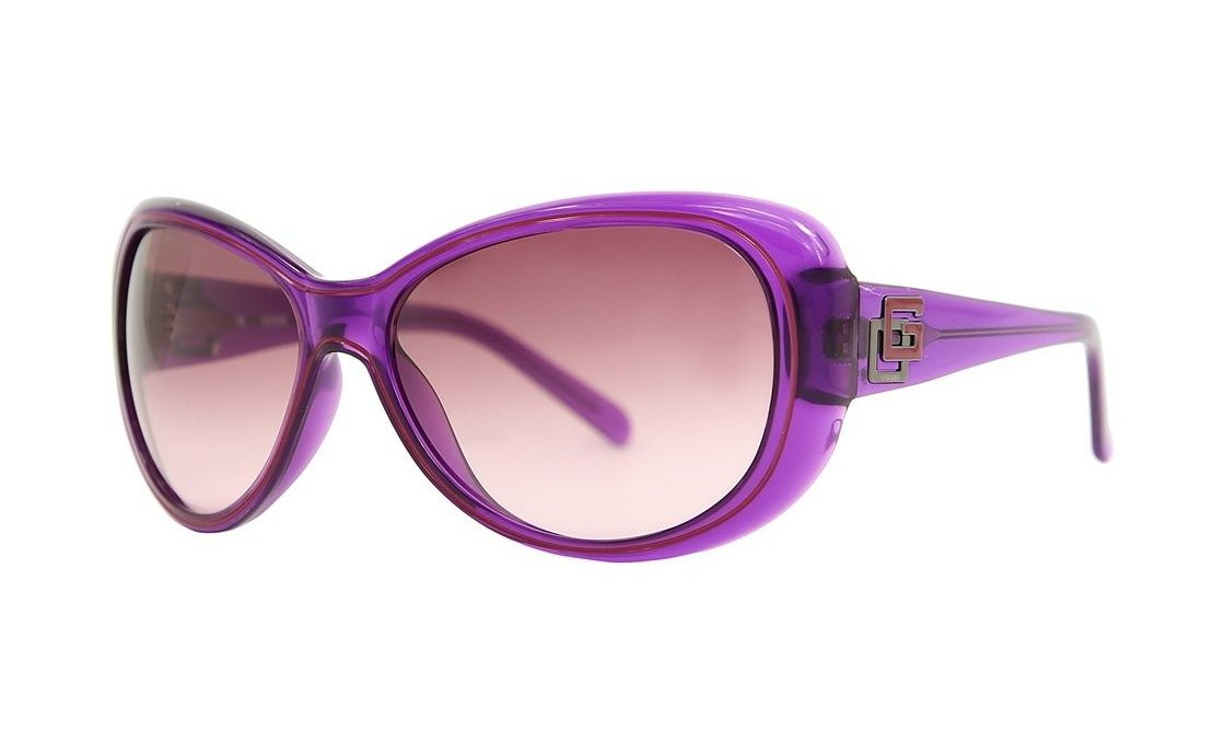 GUESS Women Purple Sunglasses GU7051 PUR-58 New w/ Case