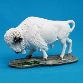 White  Buffalo  Sacred Figure  South  Dakota