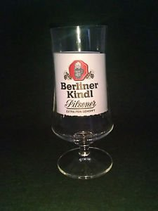 Berliner Kindl Bar Glass
