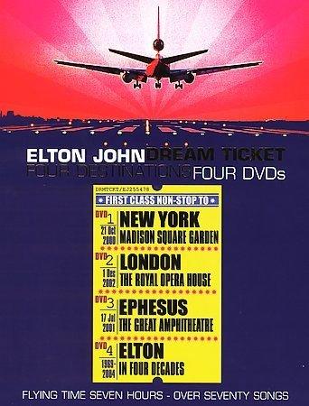 Elton John - Dream Ticket (DVD, 2005)