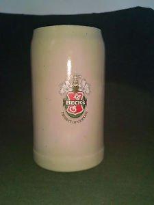 BECK'S Ceramic Stein