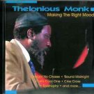 Making The Right Moods by Thelonious Monk
