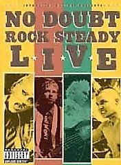 No Doubt - Rock Steady Live (DVD, 2003, Jewel Case)