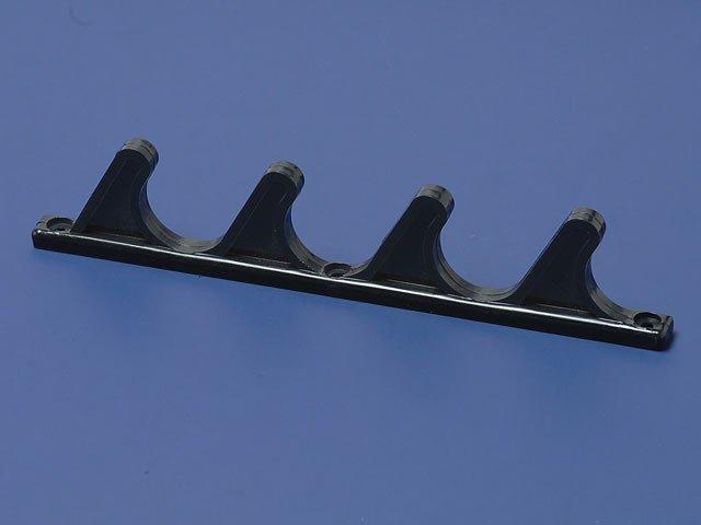 4-Position Adjustment Bracket for Patio Lawn Yard Furniture - Black