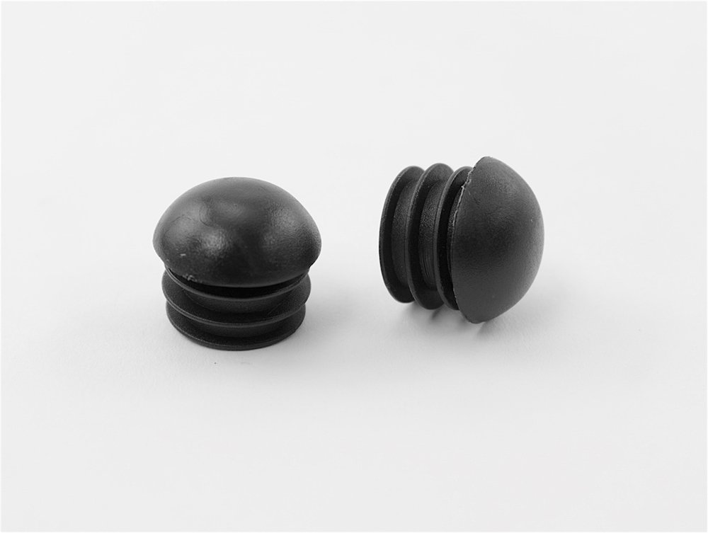"""24 7/8"""" Round Multi-Gauge Dome Glide Inserts for Tubes/Patio Furniture Legs"""