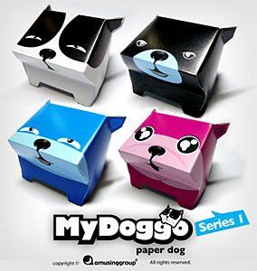 MyDoggo paper dogs - Series 1