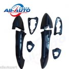 Rear Right Rear Left Outside Door Handles Black Electroplating For X5 E53 00-06