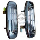 Rear Pair Metal Outside Car Door Handles For Mitsubish Pajero Montero 91-99