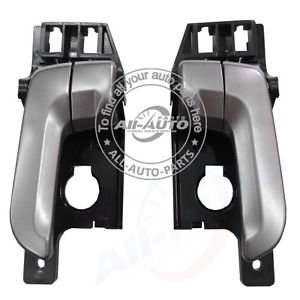 1 Pair Front Left Front Right Inside Door Handles For Kia Sportage 04-10