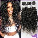 12+14+16 Virgin Peruvian Deep Wave Hair Bundles