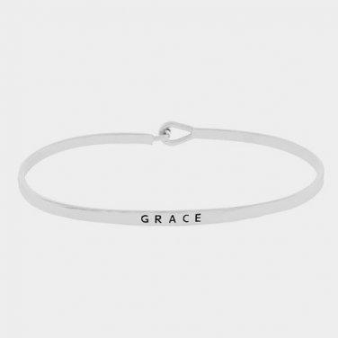 Grace Bracelet - silver