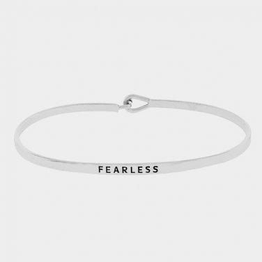 Fearless Bracelet - silver