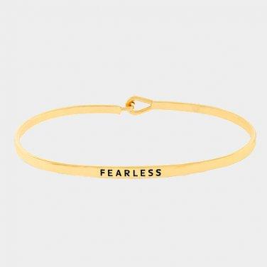Fearless Bracelet - gold