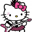 Hello Kitty Rock Star Decal Sticker