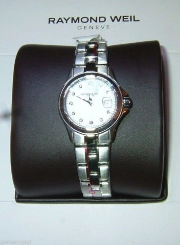 Raymond Weil Women's Parsifal Mother-Of-Pearl Diamond Dial Watch 9460-ST-97081