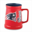 Sculpted Tankard - New England Patriots