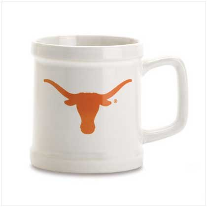 Univ of Texas Decal Mug
