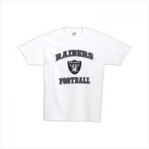 NFL Oakland Raiders Tee Shirt - Large