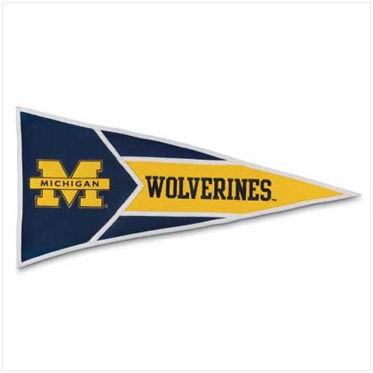 UNIVERSITY OF MICHIGAN PENNANT