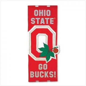 Ohio State Door Flag