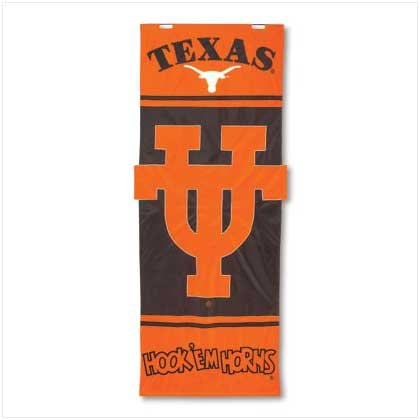 University of Texas Door Flag