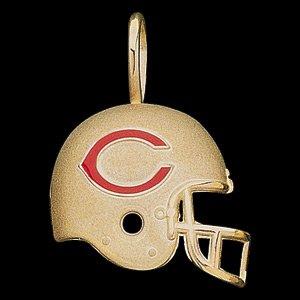 14 K Gold NFL Bears helmet pendant