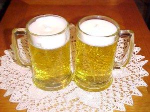 Item #: C29 -  Happy Hour Beer Gel Candle