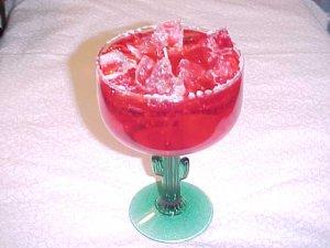 Item #: C34 -  Cactus Margarita Gel Candle