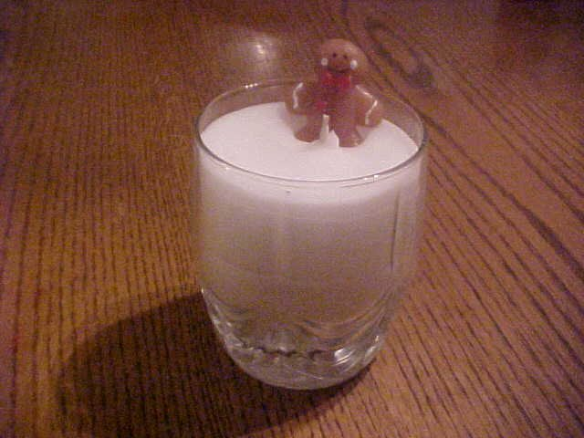 Item #: C4 - Cookies and Milk For Santa Gel Candle