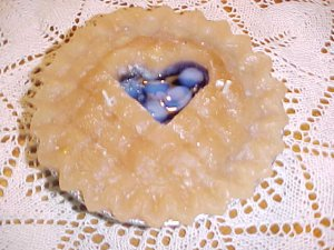 Item #: C85 -  Gel Candle Blueberry Pie