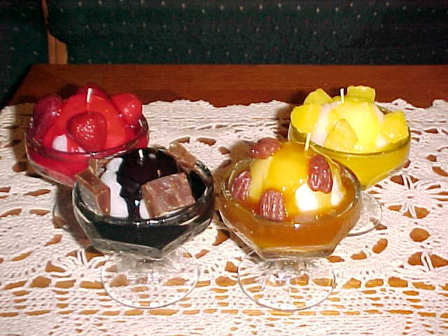 Item #: KIT7 -  Candle Kit - Ice Cream Sundaes (Makes 6)