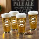 NEW Personalized Pub Glass Set - Brew Master