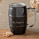 Personalized Black Enamel Tankard