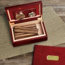 Personalized Cherry Finish Wood Humidor