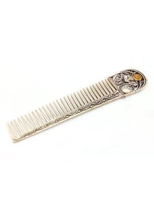 "Hair comb with Signs of the Zodiac ""Libra"""