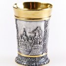 "Silver shot glass ""Kiev"""