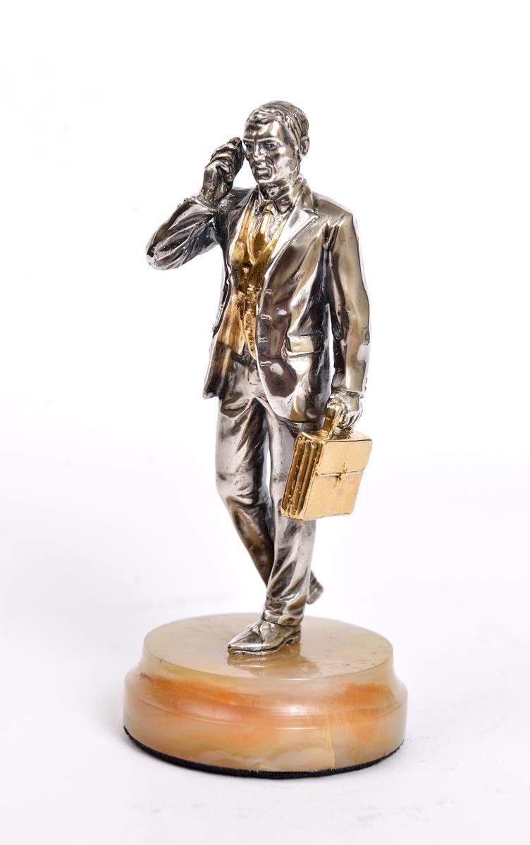 "Statue figurine ""Businessman"""
