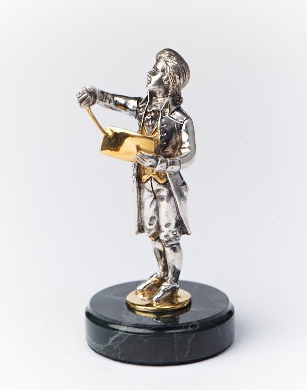 "Statue figurine ""Mozart"""