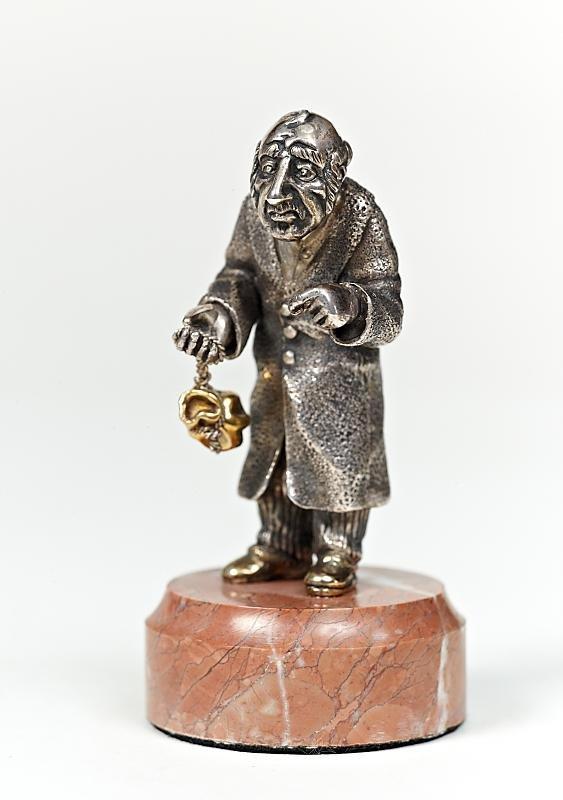 """Figurine """"Jew moneychanger"""""""