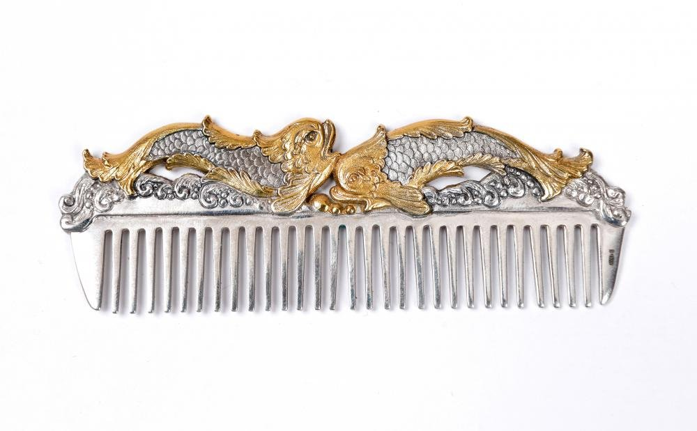 "Hair comb ""Fish"""