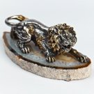 "Silver Figurine ""Lion"""