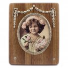 Wood&Silver Photo Frame